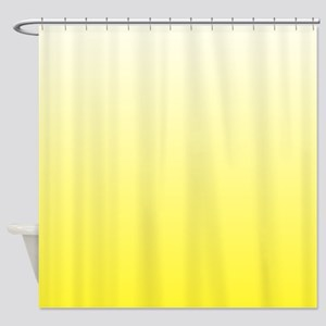 Shades of Yellow Shower Curtain