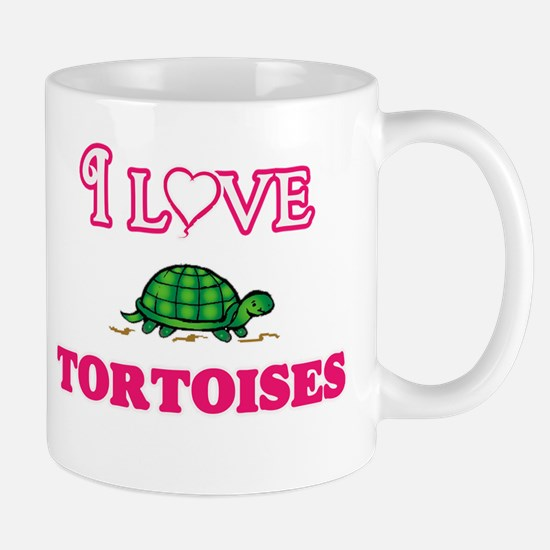 I Love Tortoises Mugs