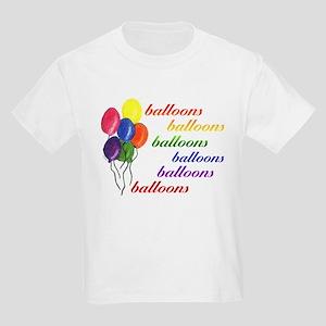 Balloons Balloons Kids Tee