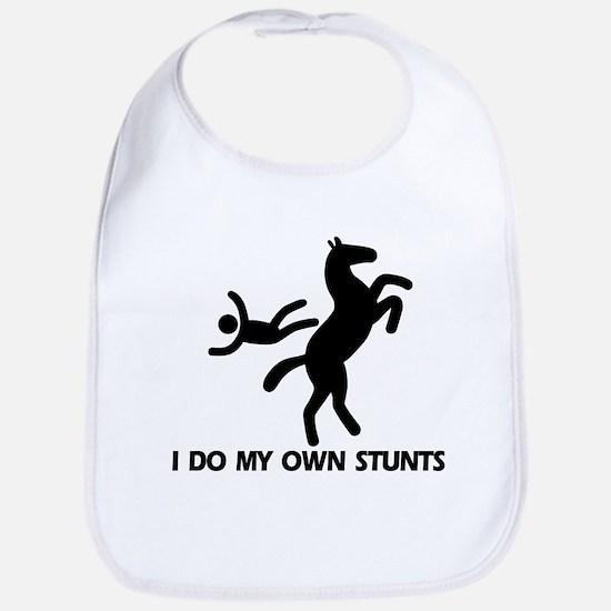 Rearing Horse 'Stunts' Bib