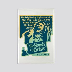 Hands of Orlac Horror Rectangle Magnet