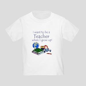 Want2B a Teacher - Toddler Tee