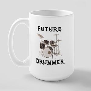 Future Drummer Large Mug