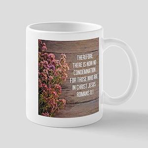 Romans 8:1 Mug