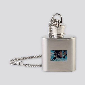 Old School Scratch Flask Necklace