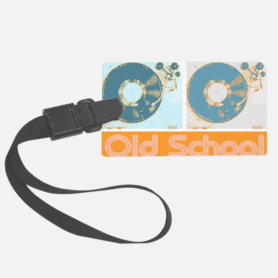 Old Shcool Turntables Luggage Tag