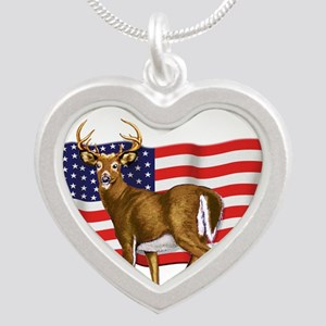 deerUSflag Necklaces