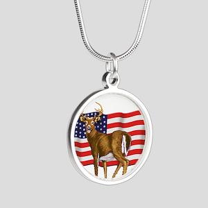 deerUSflag Necklaces