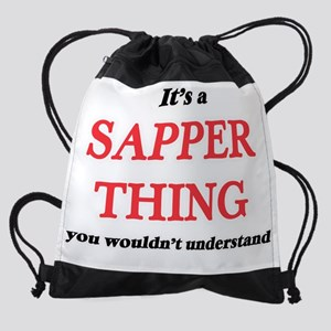 It's and Sapper thing, you woul Drawstring Bag