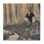 Rackham's Frog Prince Tile Coaster