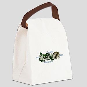 Vintage Black Hills National Fore Canvas Lunch Bag