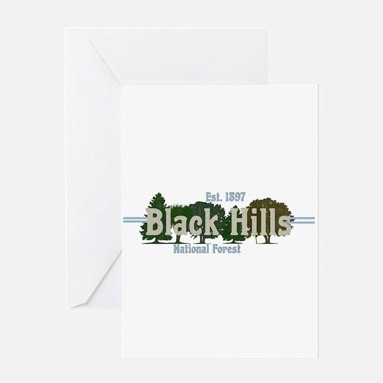 Vintage Black Hills National Forest Greeting Cards