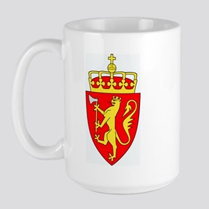 Royal Coat of Arms of Norway Large Mug