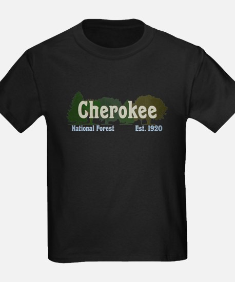 Print Press Cherokee National Forest Trees T-Shirt