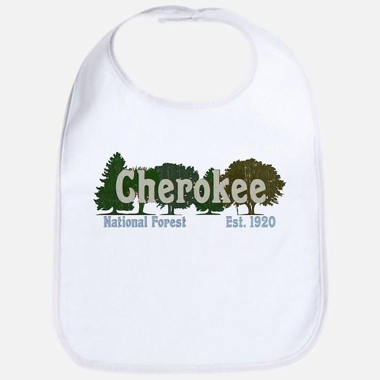 Print Press Cherokee National Forest Tree Baby Bib