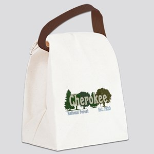 Print Press Cherokee National For Canvas Lunch Bag