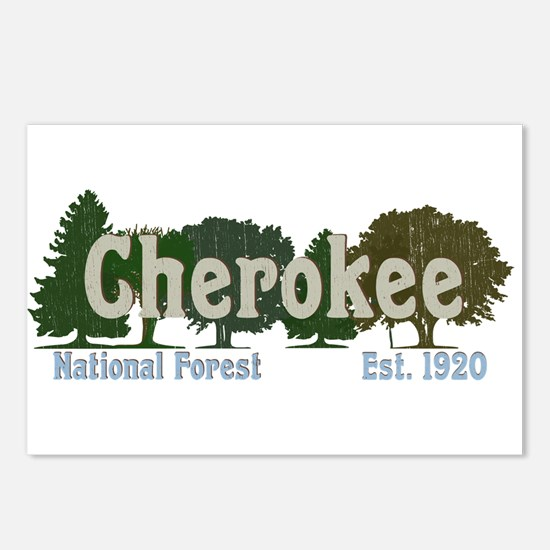Print Press Cherokee Nati Postcards (Package of 8)