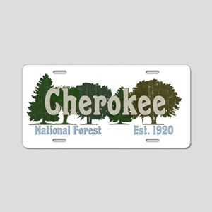 Print Press Cherokee Nation Aluminum License Plate