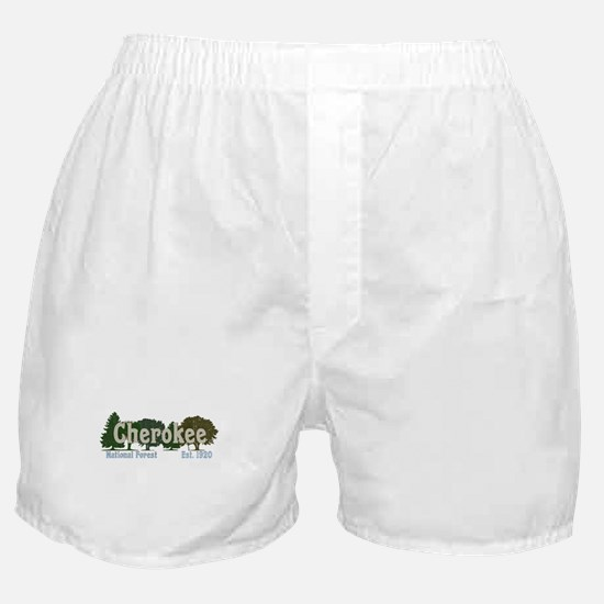 Print Press Cherokee National Forest Boxer Shorts