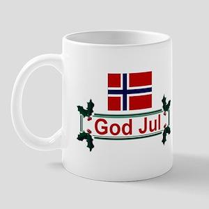 Norway God Jul Mug