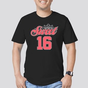 Sweet 16 Men's Fitted T-Shirt (dark)