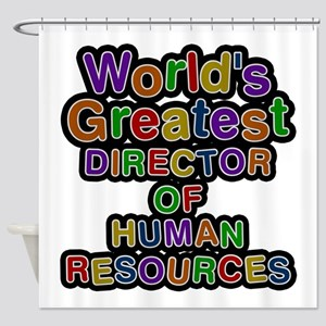 World's Greatest DIRECTOR OF HUMAN RESOURCES Showe