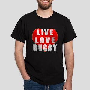 Live Love Rugby Dark T-Shirt