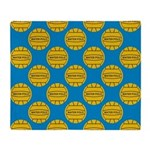 Water Polo Balls Throw Blanket