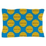 Water Polo Balls Pillow Case
