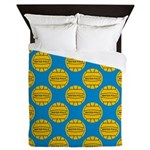 Water Polo Balls Queen Duvet