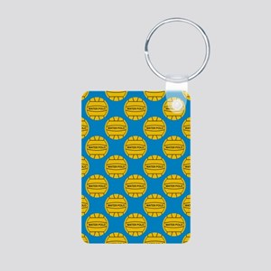 Water Polo Balls Aluminum Photo Keychain