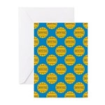 Water Polo Balls Greeting Cards (Pk of 20)