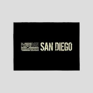 Black Flag: San Diego 5'x7'Area Rug