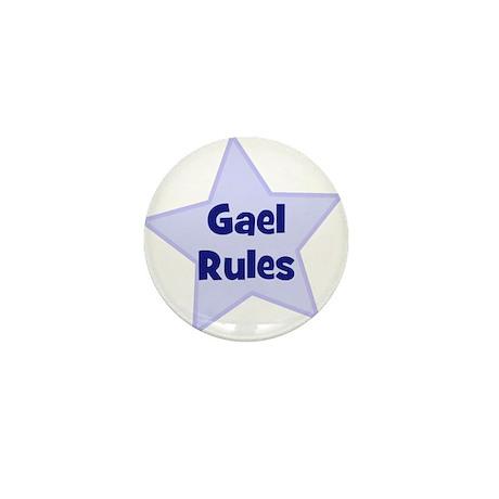 Gael Rules Mini Button