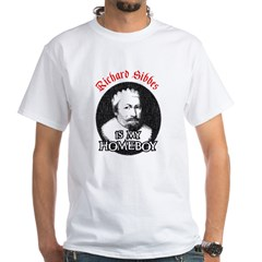 Sibbes (spell check'd) White T-Shirt