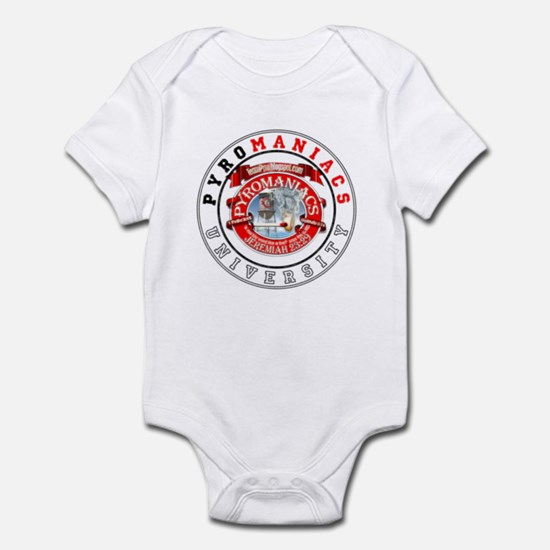 Get schooled @ TeamPyro Infant Bodysuit