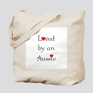 Loved by an Aussie Tote Bag