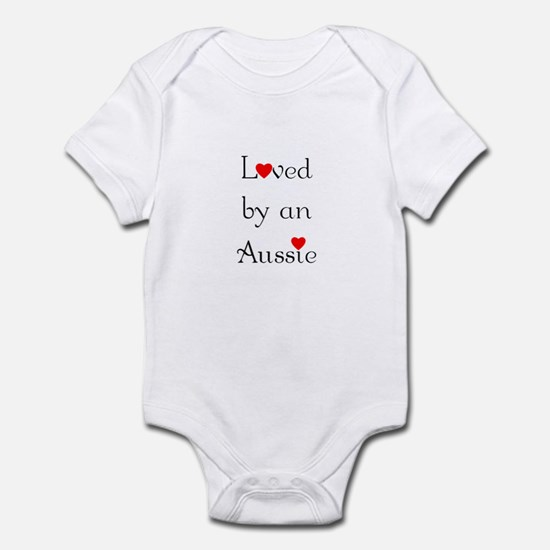 Loved by an Aussie Infant Bodysuit