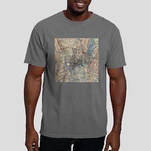 Vintage Map of New Haven Mens Comfort Colors Shirt