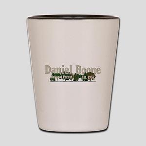 Vintage Daniel Boone National Forest Tr Shot Glass