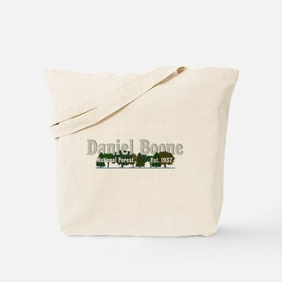 Vintage Daniel Boone National Forest Tree Tote Bag