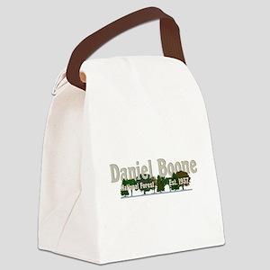 Vintage Daniel Boone National For Canvas Lunch Bag