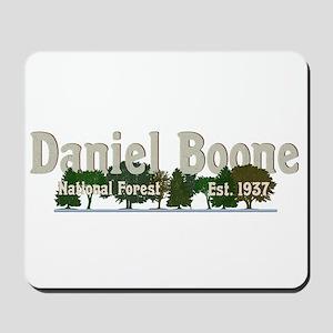 Vintage Daniel Boone National Forest Tre Mousepad