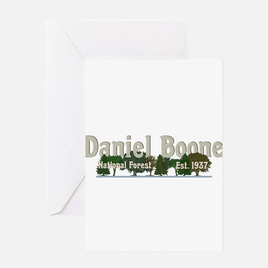 Vintage Daniel Boone National Fores Greeting Cards