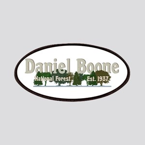 Vintage Daniel Boone National Forest Trees Patch