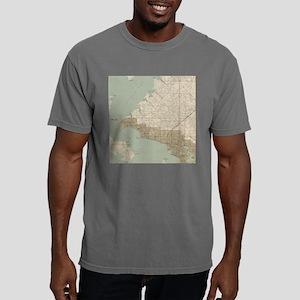Vintage Map of Panama Ci Mens Comfort Colors Shirt