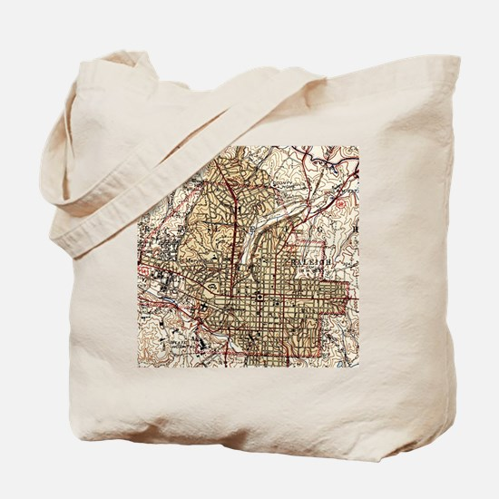 Funny Raleigh Tote Bag