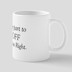 Religious Right Mug