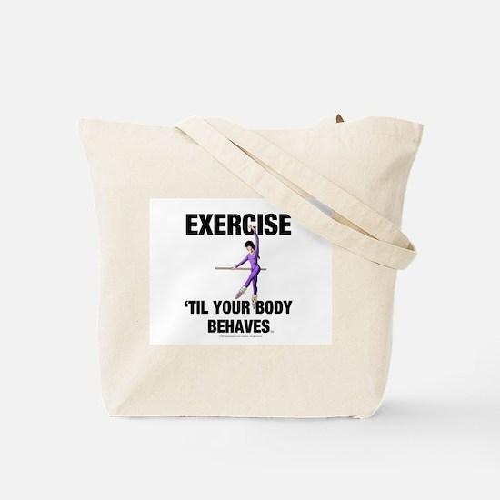TOP Fit Body Tote Bag