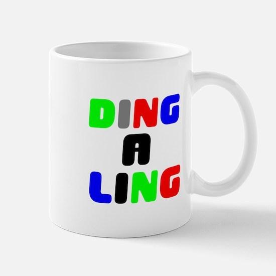DING A LING! Small Mug